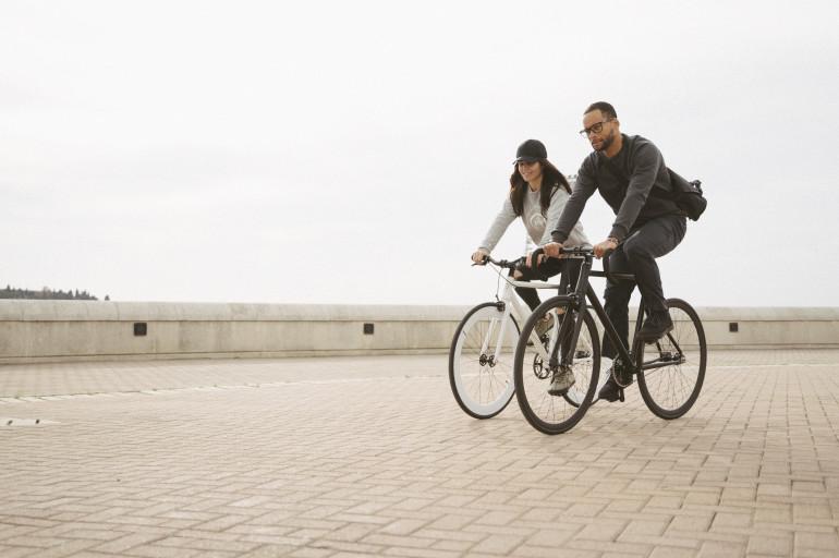 Santa Fixie, bicicletas