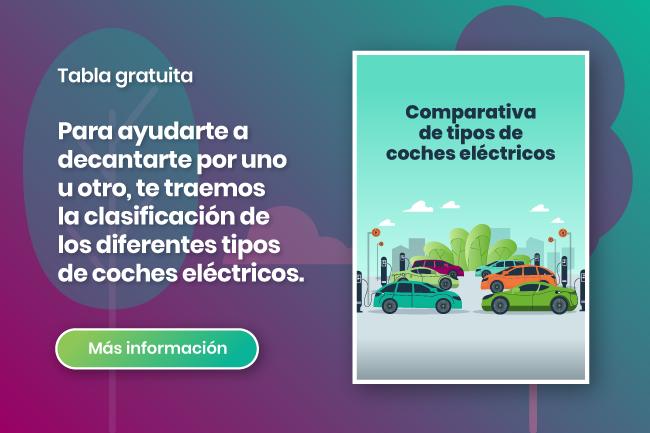 infografía comparativa coche eléctrico