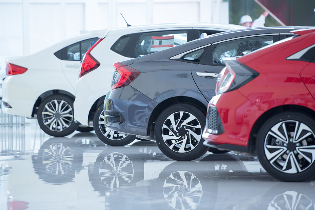 coches eléctricos en concesionario