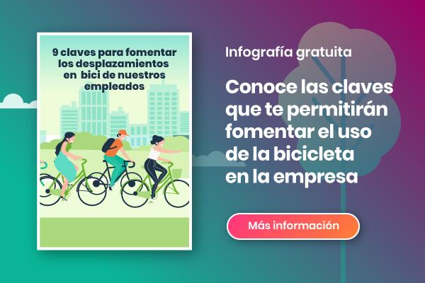 fomentar el uso de la bicicleta en la empresa