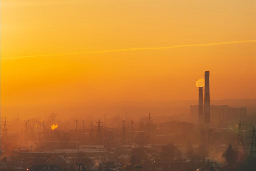 Emisiones que reducen la calidad del aire